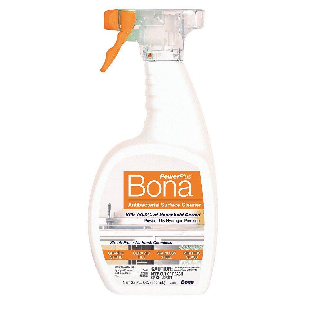 Bona PowerPlus 650 mL Unscented Antibacterial Surface Cleaner