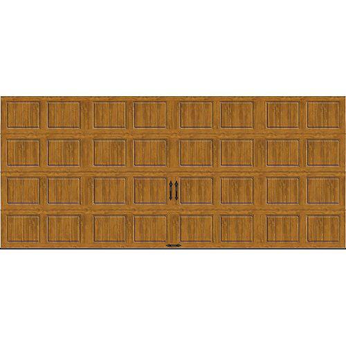 Porte de garage Gallery 16pi x 7pi isolée Intellicore Valeur «R» 18.4 Fini pâle
