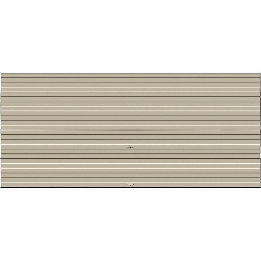 Clopay Porte de garage Griffintown 16pi x 7pi isolée Intellicore Valeur «R» 18.4 Fini Sable