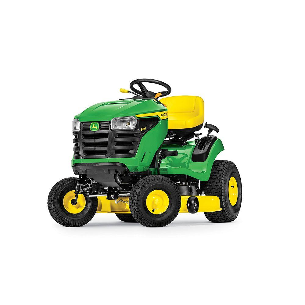 John Deere S100 42-inch Deck 17.5 HP Hydro Lawn Tractor