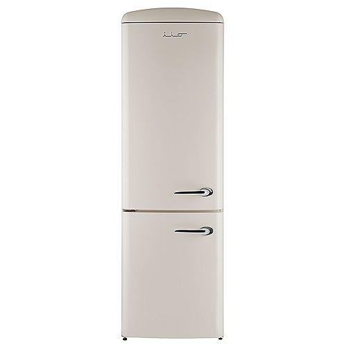 iio 12 cu. ft. Retro frost free refrigerator with bottom freezer