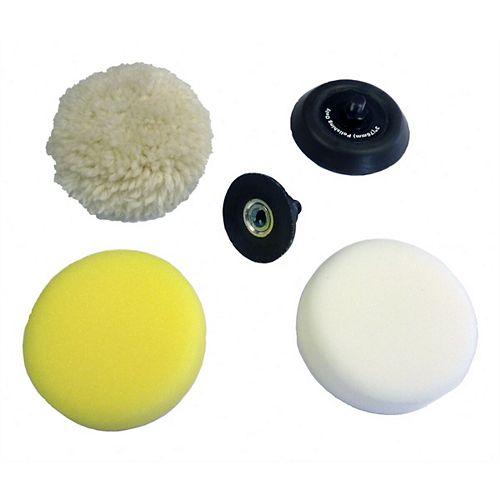 M12 Polisher/Sander 5 Piece Accessory Pack