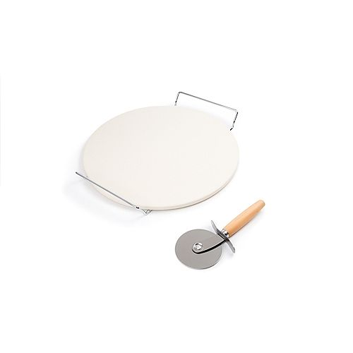 Pizza Stone Set, 12.5 inch