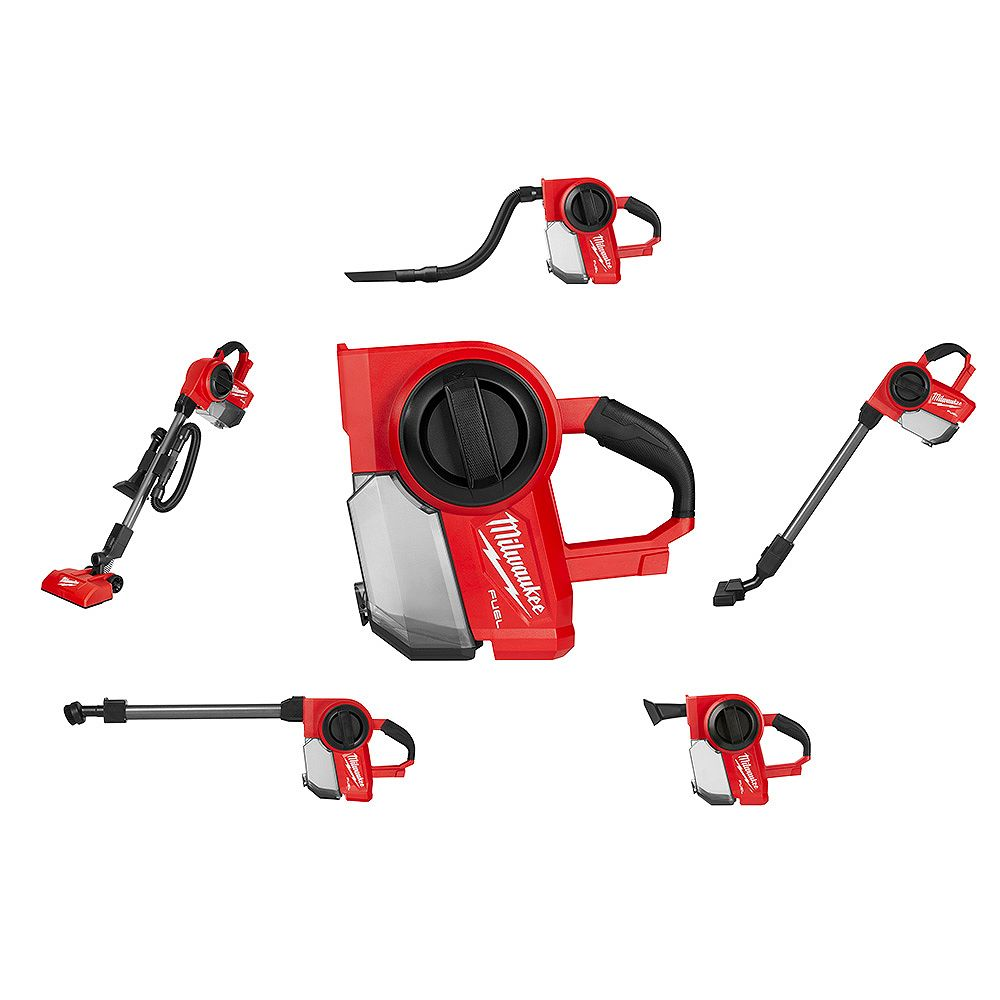 Milwaukee Tool M18 FUEL 18V Lithium-Ion Brushless 1 Gal. Cordless Jobsite Wet/Dry Vacuum (Tool-Only)