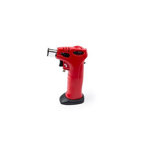 Mini torche crème brûlée rouge
