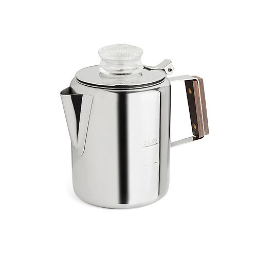 Stainless Steel Percolator, 2-3 Cup