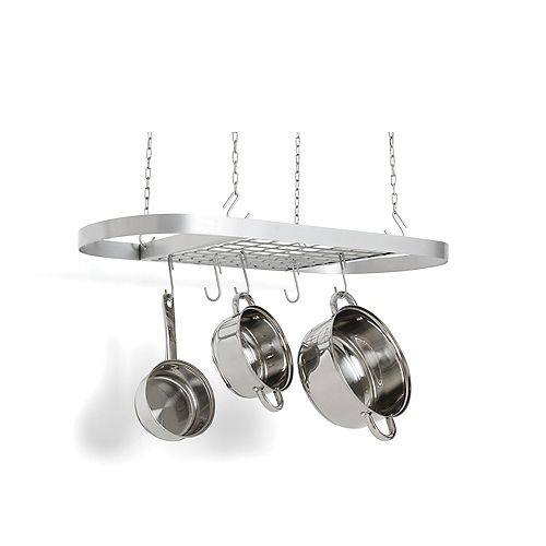 Fox Run Carbon Steel Oval Pot Rack