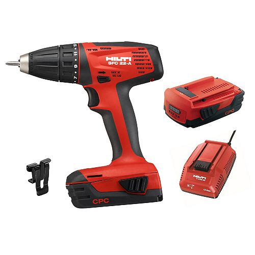 22-Volt Lithium-Ion 1/2 inch Cordless Compact Drill Driver SFC 22 Kit (No Bag)
