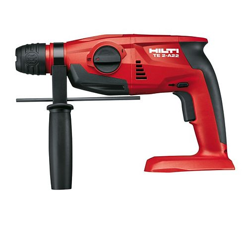 22-Volt Lithium-Ion SDS Plus Cordless Rotary Hammer Drill TE 2-A Tool Body