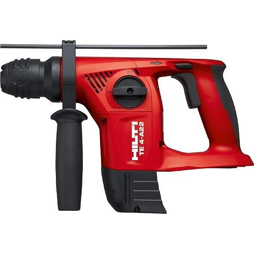 22-Volt Lithium-Ion SDS Plus Cordless Rotary Hammer Drill TE 4-A Tool Body