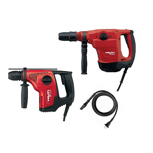TE 60 AVR SDS Max Hammer Drill/Chipping Hammer and TE 7 C SDS Plus Hammer Drill (2-Tool)