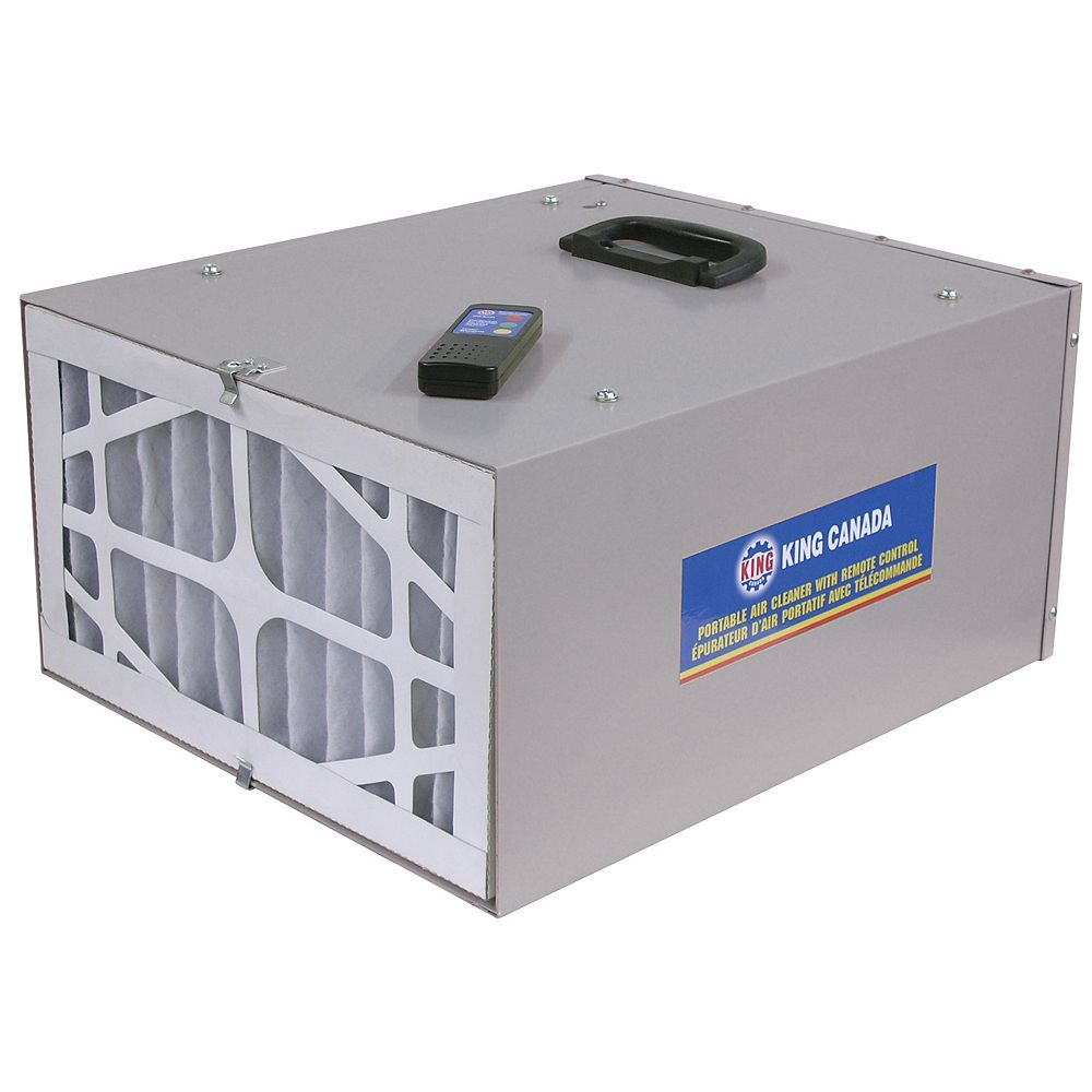 King Canada 3 Speed Portable Air Cleaner