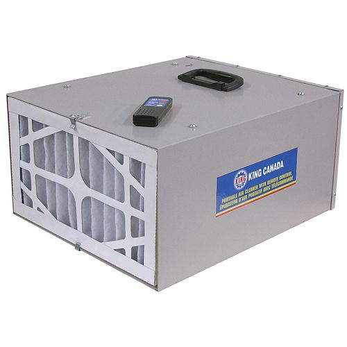 3 Speed Portable Air Cleaner