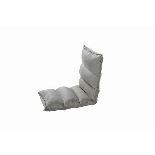 """""""Cloud Chaise de plancher réglable gris clair  Chaise de plancher réglable gris clair  """""""