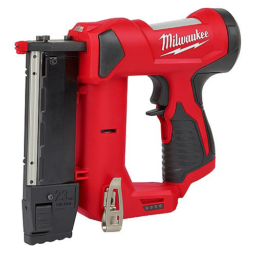 Milwaukee Tool M12 12V 23-Gauge Lithium-Ion Cordless Pin Nailer (Tool-Only)