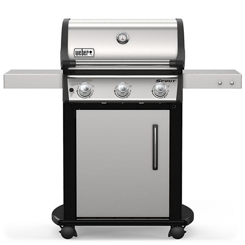 Weber Spirit S-315 3-Burner Propane BBQ in Stainless Steel with 424 sq. Inches of Cooking Surface