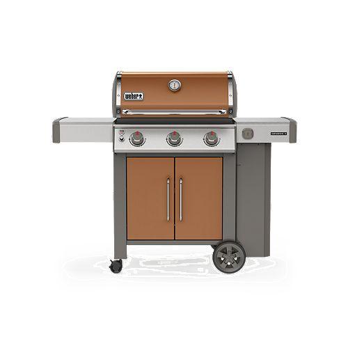 Weber GENESIS II E-315 3-Burner Propane BBQ in Copper
