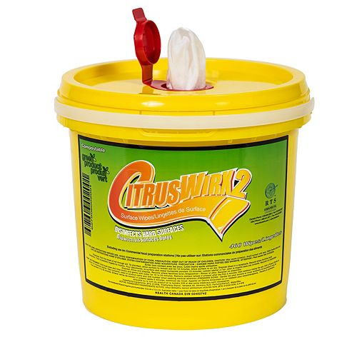 Disinfectant Wipes Bucket, 460 Wipes