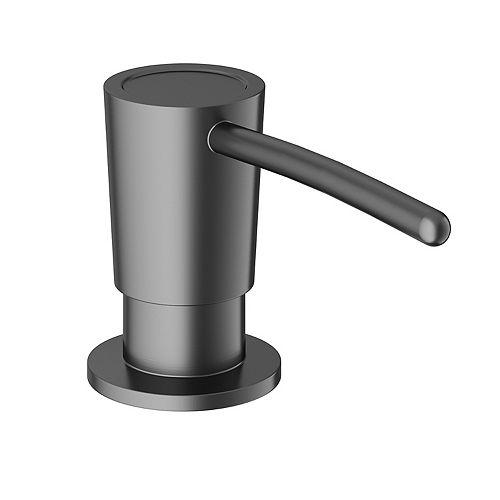 Kitchen Soap Dispenser in Graphite Black
