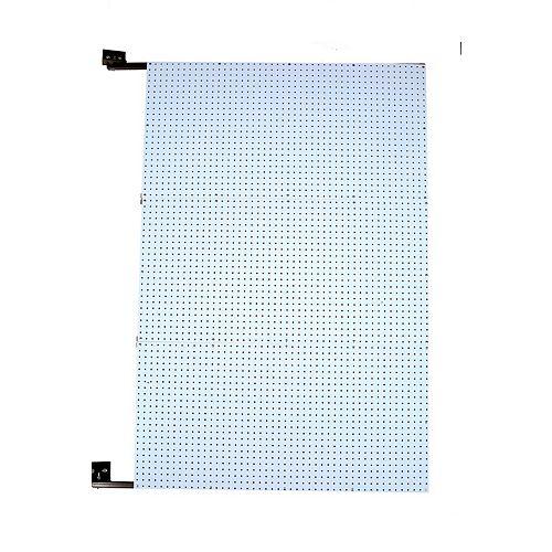 48 In. W x 72 In. H x 1-1/2 In. D Wall Mount Double-Sided Polypropylene Swing Panel Pegboard