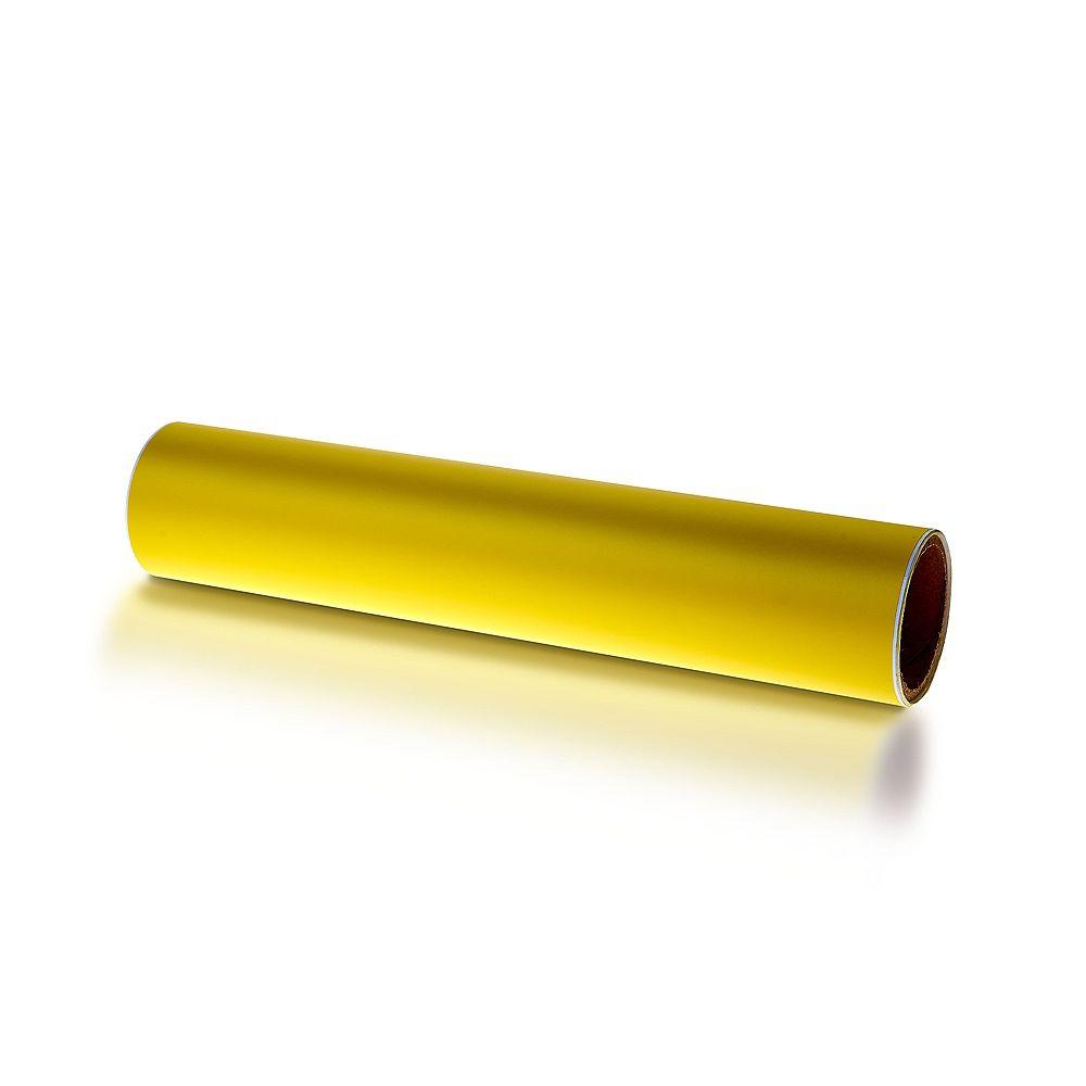 Triton 12 in. x  60 in.  Shadow Board Yellow Vinyl Self-Adhesive Tape Roll
