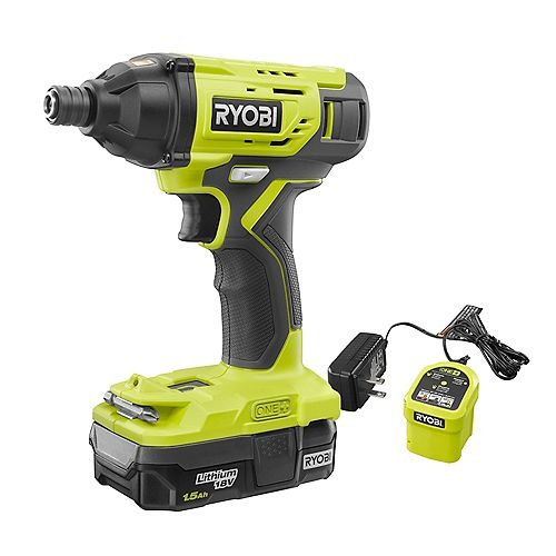 18V ONE+ Cordless Impact Driver Kit with (1) 1.5 Ah Battery and Charger