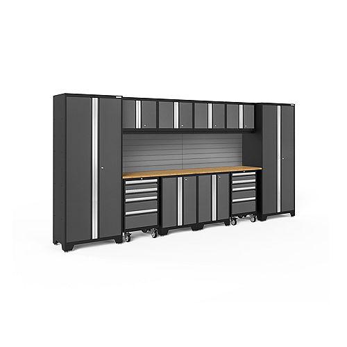 Bold Series Gray 12 Piece Cabinet Set