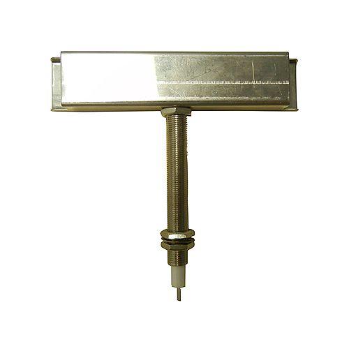 électrode croisement 121 mm de largeur