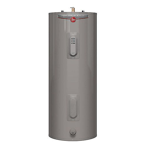 Rheem Performance Plus 63 Imperial Gal Electric Water Heater with 10 Year Warranty