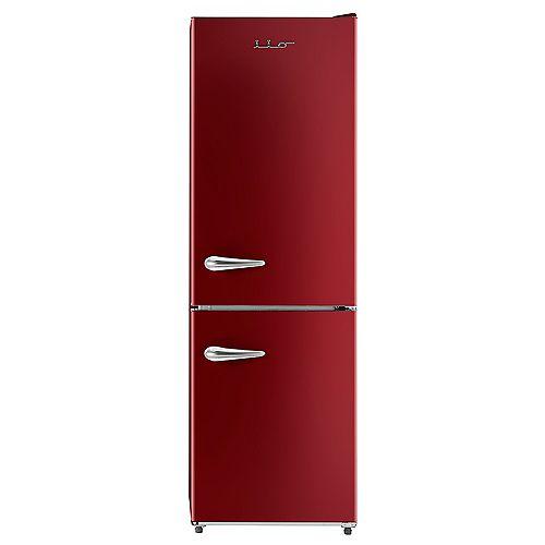 iio 11 cu. ft. Retro frost free refrigerator with bottom freezer