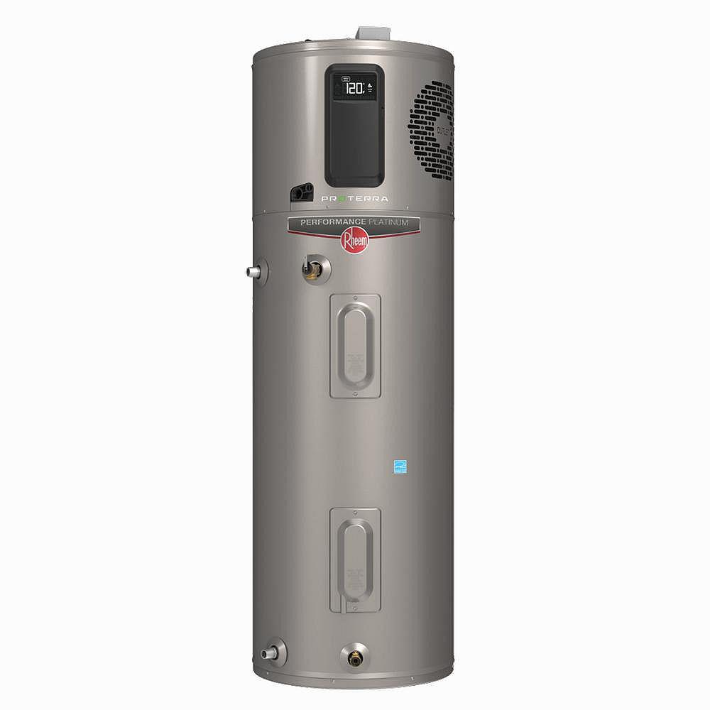 Rheem Rheem ProTerra 50G 10-Year Hybrid High Efficiency Electric Water Heater with Leak Detection & Auto Shutoff