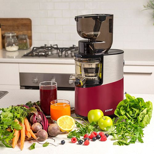BioChef BioChef Atlas Pro - Whole, Cold Press, Slow, Masticating Juicer - 300 Watt (RED)
