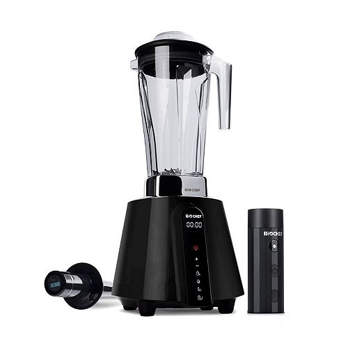 BioChef BIOCHEF LIVING FOOD VACUUM BLENDER, ALL-ROUND APPLIANCE WITH VACUUM BLENDING TECHNOLOGY(BLACK)