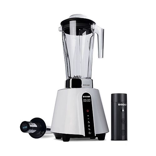 BioChef BIOCHEF LIVING FOOD VACUUM BLENDER, ALL-ROUND APPLIANCE WITH VACUUM BLENDING TECHNOLOGY(WHITE)