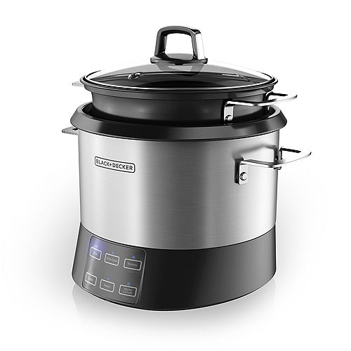 BLACK+DECKER All-In-One Cooking Pot and Rice Cooker