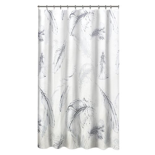 Veren Shower Curtain 72 x 72 inch Multicolor Print