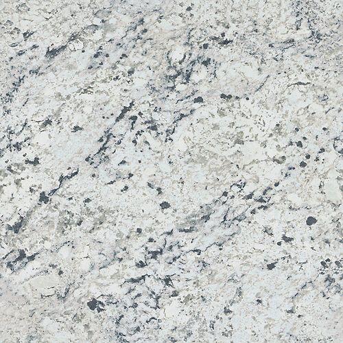 White Ice Granite 5 ft. x 12 ft. Laminate Sheet in Artisan Finish 9476-43
