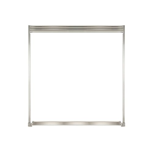 79-inch Louvered Dual Built-In Trim Kit