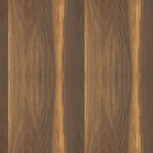 Wide Planked Walnut 5 ft. x 12 ft. Laminate Sheet Natural Grain Finish 9479-NG