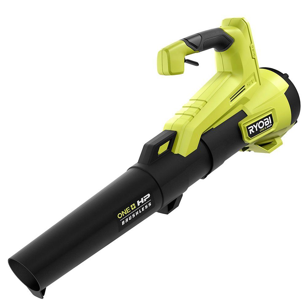 RYOBI 18V ONE+ HP Brushless Cordless 110 MPH 350 CFM Jet-Fan Leaf Blower (Tool-Only)