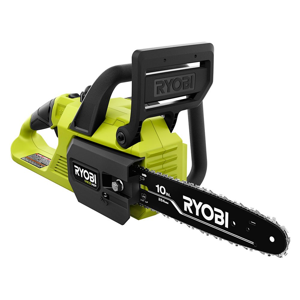 RYOBI 18V ONE+ HP Brushless Cordless 10-inch Chainsaw (Tool-Only)