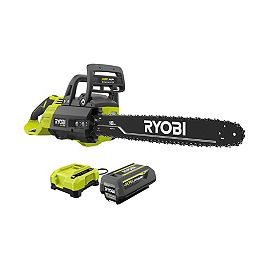 40V HP Brushless Cordless 18-inch Chainsaw Kit with 5.0 Ah Battery and Charger