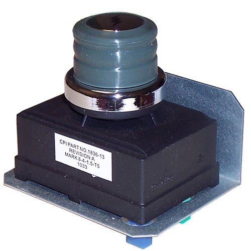 4-outlet AA spark generator with mounting plate