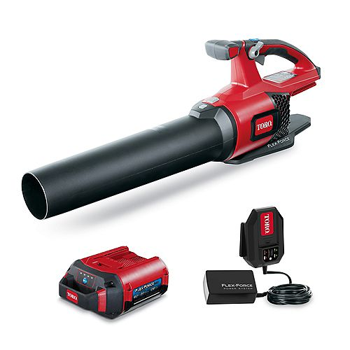 115 MPH Max Lithium-Ion 60V Brushless Cordless Leaf Blower 2.0 Ah Battery and Charger Included