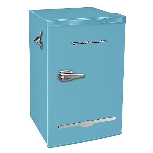 3.2 Cu. Ft. Retro Mini Fridge - Blue