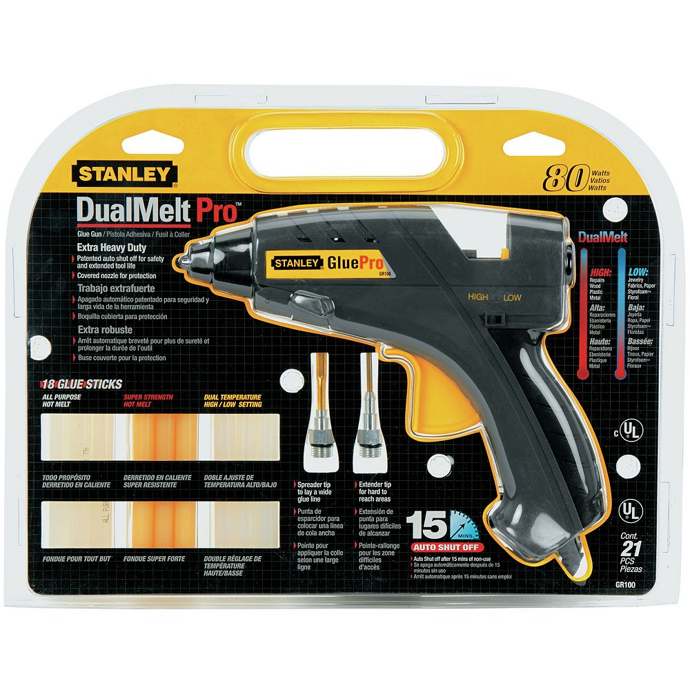 STANLEY 8 1/2-inch Dual Melt Pro Glue Gun Kit