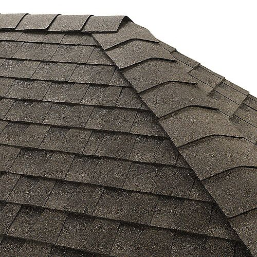 Gaf TimberTex Canadian Driftwood Double-Layer Hip and Ridge Cap Shingle(20 lin. ft. per Bdl) (30-pieces)