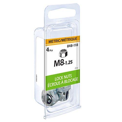 Metric Lock Nut M8-1.25 4pcs