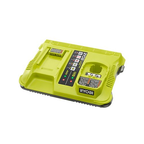 ONE+ Lithium-Ion Dual Platform Charger for RYOBI 18V ONE+ and 40V Batteries