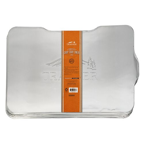 Ironwood 650 19.7-inch L x 15.4-inch W Drip Tray Liner (5-Pack)